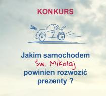 Tylko Dzis Konkurs Z Euro Car Expert Narysuj Auto Sw Mikolaja